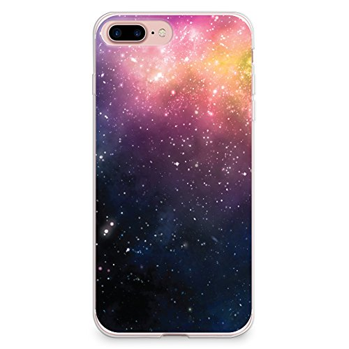 sports shoes 87a90 64f3a iPhone 8 Plus Case, iPhone 7 Plus Case, CasesByLorraine Abstract Galaxy Sky  Stardust Space Nebula Case Flexible TPU Soft Gel Protective Cover for ...