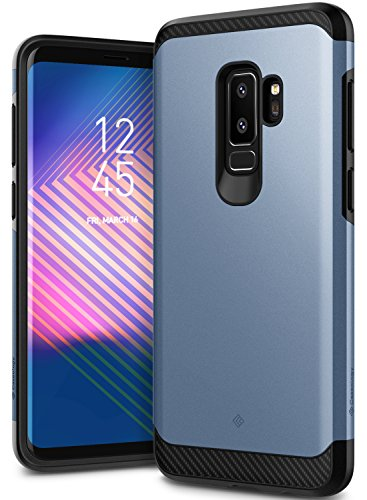 Galaxy S9 Plus Case, Caseology [Legion Series] Slim Heavy Duty Protection Dual Layer Armor Cover for Samsung Galaxy S9 Plus (2018) - Blue Coral