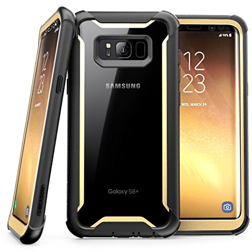 the best attitude 72940 ac9c6 Samsung Galaxy S8+ Plus case, i-Blason Full-body Rugged Clear Bumper Case  with Built-in Screen Protector for Samsung Galaxy S8+ Plus 2017 Release ...