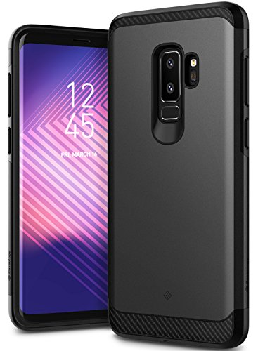 Galaxy S9 Plus Case, Caseology [Legion Series] Slim Heavy Duty Protection Dual Layer Armor Cover for Samsung Galaxy S9 Plus (2018) - Black