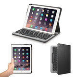 Anker Bluetooth Folio Keyboard Case for iPad Air 2 - Smart Case with Auto Sleep / Wake, Comfortable Keys and 6-Month Battery Life Between Charges (Not compatible with iPad 9.7 inch/iPad Air)