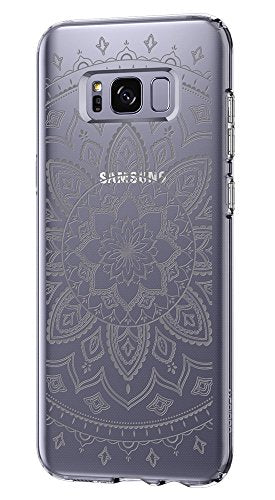 Spigen Liquid Crystal Galaxy S8 Plus Case with Slim Protection and Premium Clarity for Galaxy S8 Plus (2017) - Shine Clear