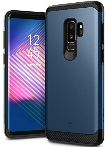 Galaxy S9 Plus Case, Caseology [Legion Series] Slim Heavy Duty Protection Dual Layer Armor Cover for Samsung Galaxy S9 Plus (2018) - Midnight Blue