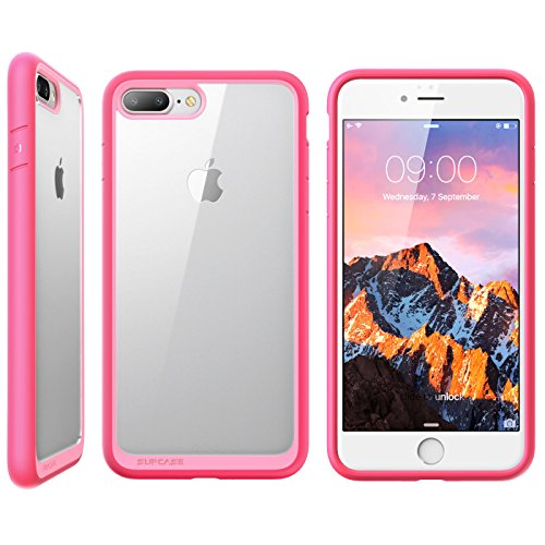 newest 874a0 4dea8 iPhone 7 Plus Case, iPhone 8 Plus Case, SUPCASE Unicorn Beetle Style  Premium Hybrid Protective Clear Case for Apple iPhone 7 Plus 2016 / iPhone  8 Plus ...