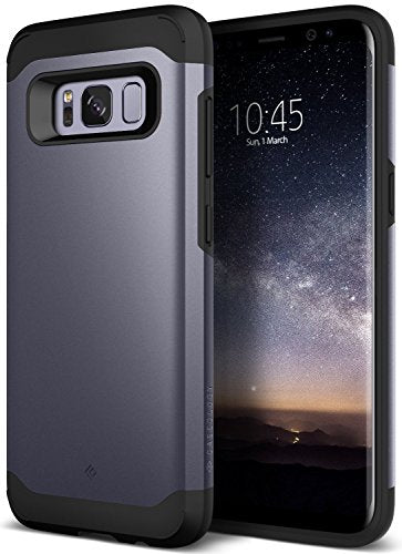 Galaxy S8 Case, Caseology [Legion Series] Heavy Duty Protection Slim Protective Rugged Dual Layer Corner Cushion Design [Orchid Gray] for Samsung Galaxy S8 (2017)