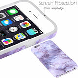 iPhone 6 Case,iPhone 6s Case Marble opal, VIVIBIN Shock Absorption Anti Scratch IMD Soft TPU Silicon Gel Protective Cover Case for Regula iPhone 6 / iPhone 6s - 4.7""