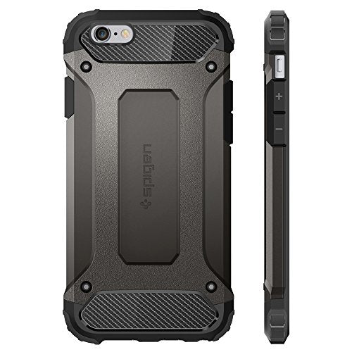 super popular 1fdf4 11fe9 Spigen Tough Armor TECH iPhone 6S Case with Extreme Shock and Drop  Protection for Apple iPhone 6 / 6S - Gunmetal