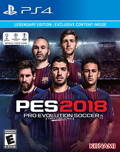 Pro Evolution Soccer 2018 Legendary Edition - Playstation 4 - PlayStation 4 Legendary Edition