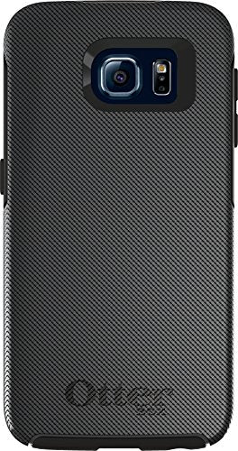 OtterBox SYMMETRY SERIES for Samsung Galaxy S6 - Retail Packaging - Gridlock (Slate/Gridlock Graphic)
