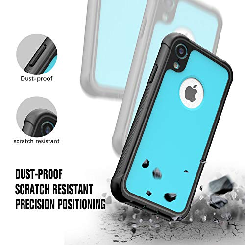 pretty nice a2437 2d8f7 Designed for iPhone XR Case, JUSTCOOL Full Body Heavy Duty Protection with  Built-in Screen Protector Shockproof Rugged Cover Designed for iPhone XR ...