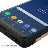 Galaxy Note 8 Screen Protector (Case Friendly)(2-Pack), IQ Shield LiQuidSkin Full Coverage Screen Protector for Galaxy Note 8 HD Clear Anti-Bubble Film