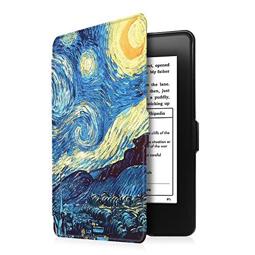 Fintie Case for Kindle Paperwhite - Premium Thinnest and Lightest PU  Leather Cover With Auto Sleep/Wake for All-New Amazon Kindle Paperwhite  (Fits All