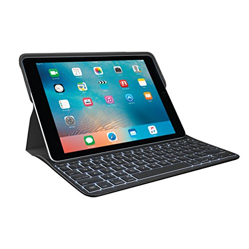 Logitech Create iPad Pro 9.7 Backlit Keyboard Case – Smart Connector – iOS Shortcuts – Black