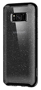 Spigen Neo Hybrid Crystal Glitter Galaxy S8 Plus Case with Flexible Inner Protection and Reinforced Hard Bumper Frame for Galaxy S8 Plus (2017) - Space Quartz