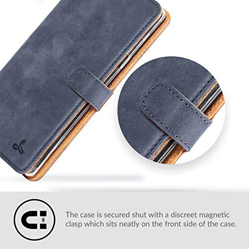 detailing b54b8 460fd Samsung Galaxy Note 9 Case, Luxury Genuine Leather Wallet with Viewing  Stand and Card Slots, Flip Cover Gift Boxed and Handmade in Europe by  Snakehive ...