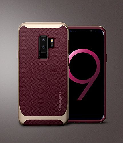 timeless design b3ef7 6ff77 Spigen Neo Hybrid Galaxy S9 Plus Case with Flexible Herringbone Pattern  Protection and Reinforced Hard Bumper Frame for Samsung Galaxy S9 Plus  (2018) ...