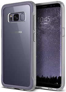Galaxy S8 Case, Caseology [Coastline Series] Transparent Clear Slim Protective Scratch Resistant Air Space Technology Frosted Frame [Orchid Gray] for Samsung Galaxy S8 (2017)