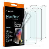 Spigen Galaxy S8 Screen Protector NeoFlex / 3 Pack / Flexible Film / Case Friendly for Samsung Galaxy S8