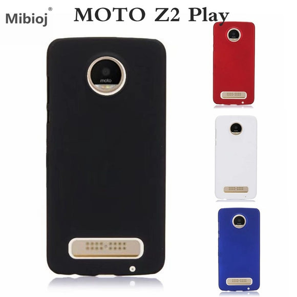 Ultra Thin Frosted Shield Matte Rubber Hard Back Case Cover for Motorola Moto Z2 Play Cases