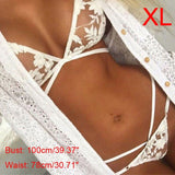 Girls Women Ladies Lace Lingerie Underwear Suit Bra Tops+Briefs