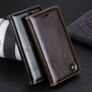 Vintage Magnetic Flip Cover Stand Wallet Leather Case For Samsung Galaxy Note 8 / S8 / S8 Plus / S7 / S7 Edge / / S6 Edge / S6 E