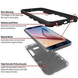 Rugged Dual Layer Armor Kickstand Hard Protective Case For Smasung Galaxy Note 8 / S8 / S8 Plus / S7 / S7 Edge / S6 / S6 Edge /