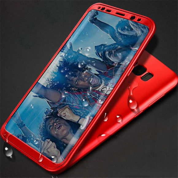 2 In 1 Ultra Thin TPU and PC Double Layers Smartphone Cover for Samsung Galaxy S8 / S8 Plus Case Protective Phone Shell for Note
