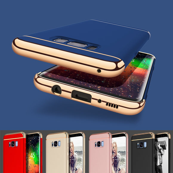 Shockproof Ultrathin Electroplate Hard Case Back Cover For Samsung Galaxy Note 8 / S8 / S8 Plus / iPhone X / 8 / 8 Plus / iPhon
