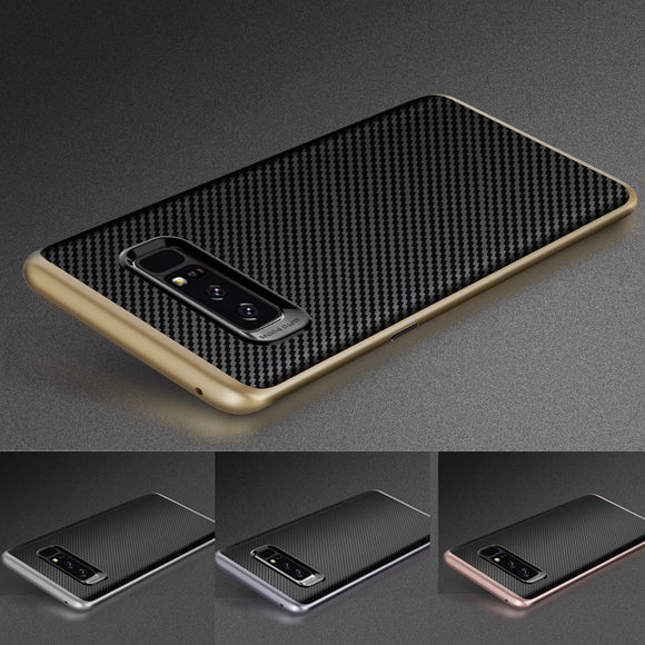 Luxury Electroplate Soft Rubber Armor Shockproof Case For Samsung Galaxy Note 8 / S8 / S8 Plus / iPhone X