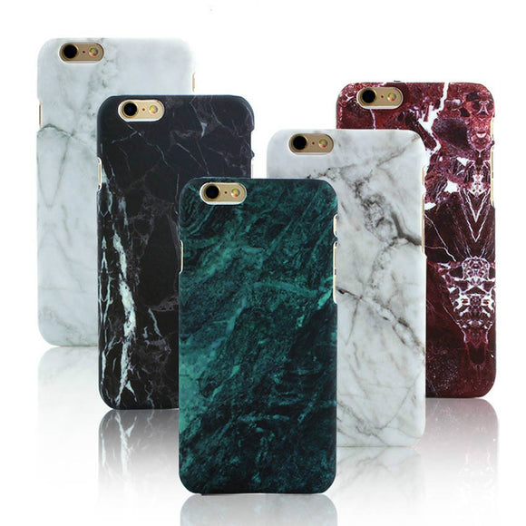 Matte Thin Marble Phone Case Cover Coque Fundas Capinha Hulle