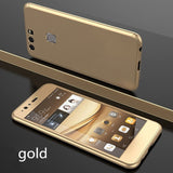 360° Full Cover Ultra thin Case+Tempered Glass For Huawei P9 P9 Plus P10 P10plus P8lite P9lite P10lite mate8 mate9 mate9Pro Hono