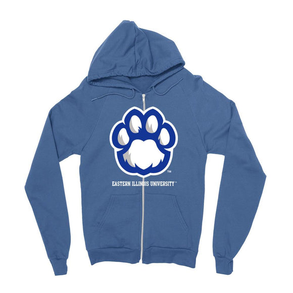Official NCAA Eastern Illinois University Panthers - PPEIU21 Mens / womens Boyfriend Zip Hoodie