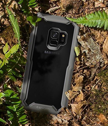 uk availability 956e9 055b9 Spigen Hybrid 360 Galaxy S9 Case with 360 Full Body Coverage Protection  with Tempered Glass Screen Protector for Samsung Galaxy S9 (2018) -  Titanium ...