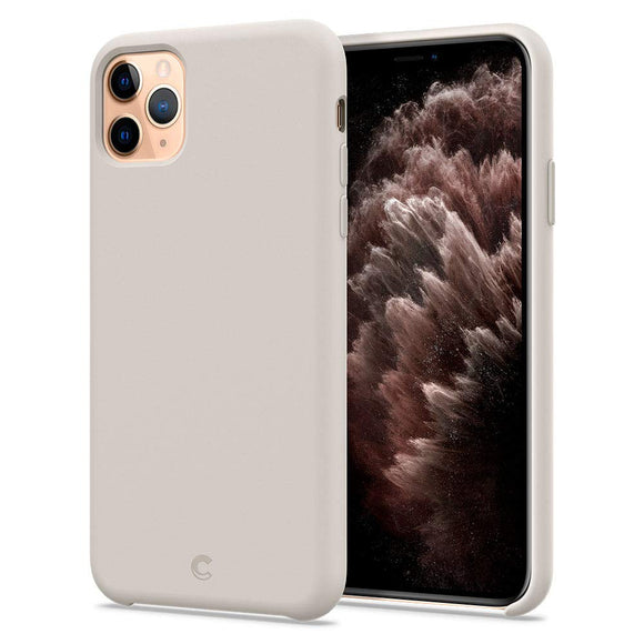 Ciel by CYRILL [Silicone Collection] Designed for Apple iPhone 11 Pro Max Case (2019) - Stone