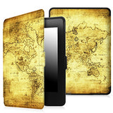 Fintie Case for Kindle Paperwhite - Premium Thinnest and Lightest PU Leather Cover With Auto Sleep/Wake for All-New Amazon Kindle Paperwhite (Fits All 2012, 2013, 2015 and 2016 Versions), Ancient Map