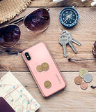 Spigen Thin Fit iPhone X Case with Premium Matte Finish Coating and QNMP Compatible for Apple iPhone X (2017) - Blush Gold