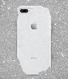 Spigen Liquid Crystal [2nd Generation] iPhone 8 Plus Case / iPhone 7 Plus Case with Premium Clarity for Apple iPhone 8 Plus (2017) / iPhone 7 Plus (2016) - Glitter Crystal Quartz