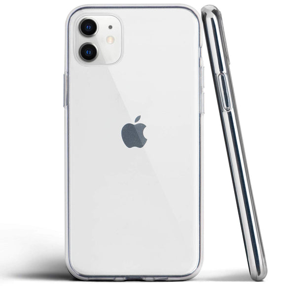 totallee Clear iPhone 11 Case, Thin Cover Ultra Slim Minimal - for Apple iPhone 11 (2019) (Transparent)