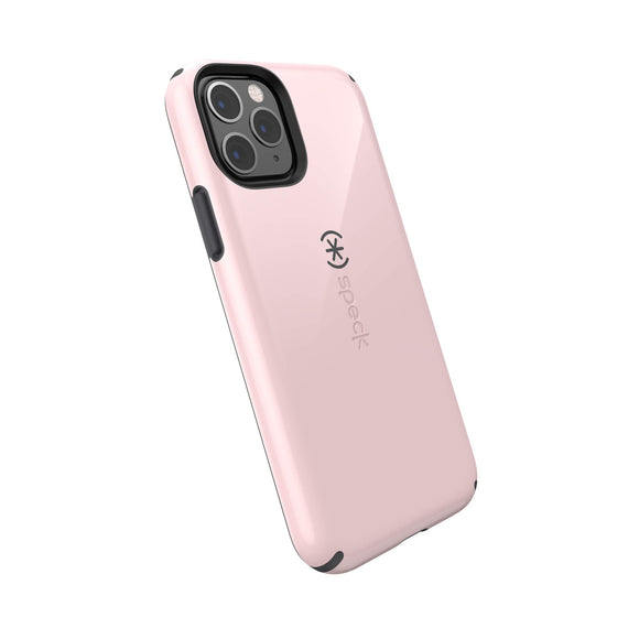 Speck CandyShell iPhone 11 Pro Case, Quartz Pink/Slate Grey