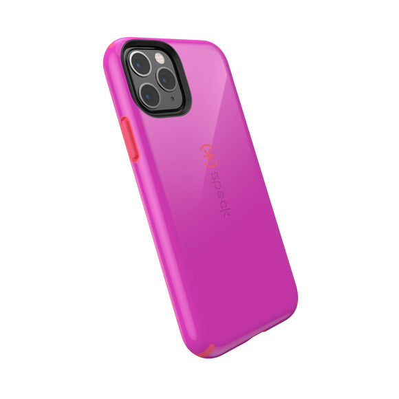 Speck CandyShell iPhone 11 Pro Case, Soda Purple/Dash Pink