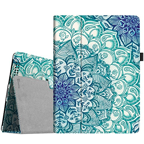 Fintie iPad 2/3/4 Case - Slim Fit Folio Stand Case Smart Protective Cover Emerald Illusions