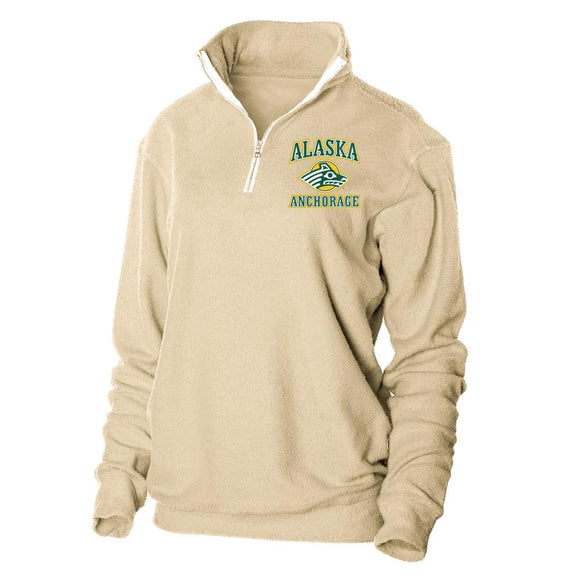 Official NCAA University of Alaska Anchorange Seawolves 1/4 Zip Up Sweatshirt