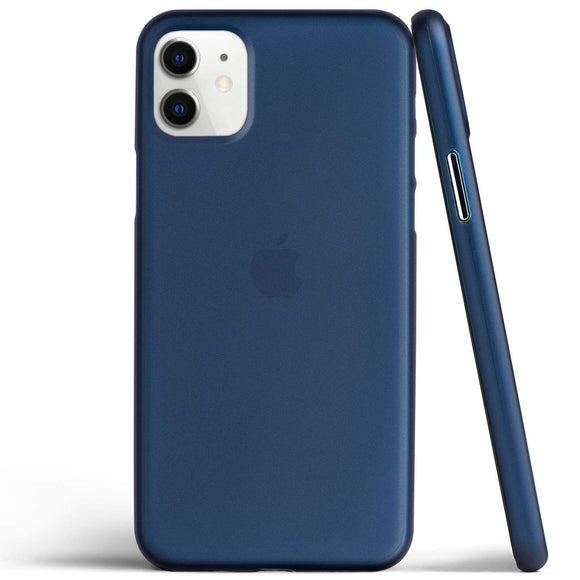 totallee Thin iPhone 11 Case, Thinnest Cover Ultra Slim Minimal - for Apple iPhone 11 (2019) (Navy Blue)