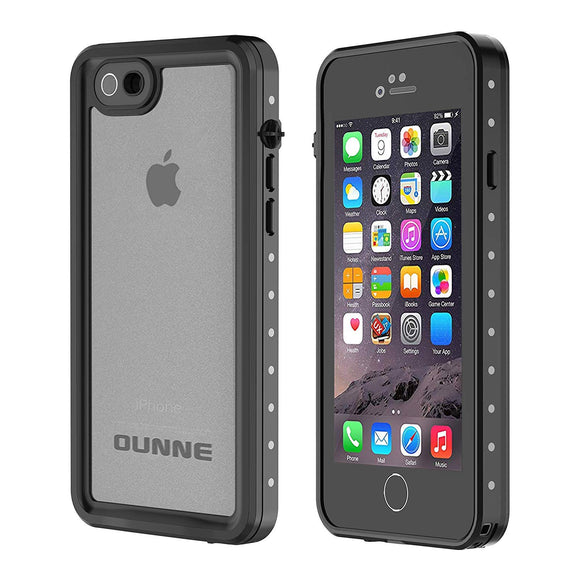 OUNNE iPhone 6/6s Waterproof Case, IP68 Certified with Touch ID Underwater Full Body Cover SandProof Shockproof Snowproof for iPhone 6/6s (Clear)
