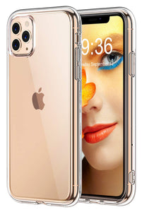 STOON for iPhone 11 Pro Max Case, Anti-Scratch Shock-Absorption Crystal Clear Phone Cover Case for iPhone 11 Pro Max, 6.5 inch, 2019