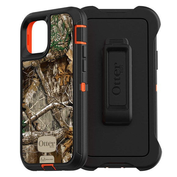 OtterBox DEFENDER SERIES SCREENLESS EDITION Case for iPhone 11 Pro - REALTREE EDGE (BLAZE ORANGE/BLACK/RT EDGE GRAPHIC)