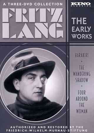 FRITZ LANG:EARLY WORKS