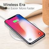 New Arrival Qi Wireless Charger for iPhone X 8 8Plus iPhone XS Max iPhone XR Wireless Charging Pad for Galaxy Note 9/S9/S8+/S9+