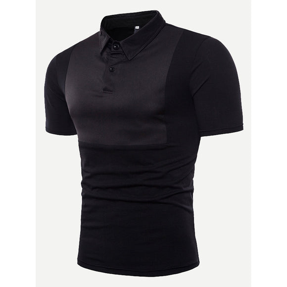 Men Plain Polo Shirt