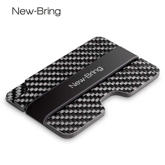 NewBring - Carbon Fiber --The Best RFID Slim Wallet